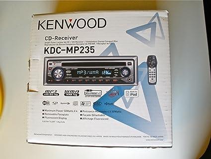 amazon com kenwood in dash radio kdc mp235 car electronics rh amazon com Audio Amplifier Kenwood User Manuals KDC -MP2035 Wiring-Diagram