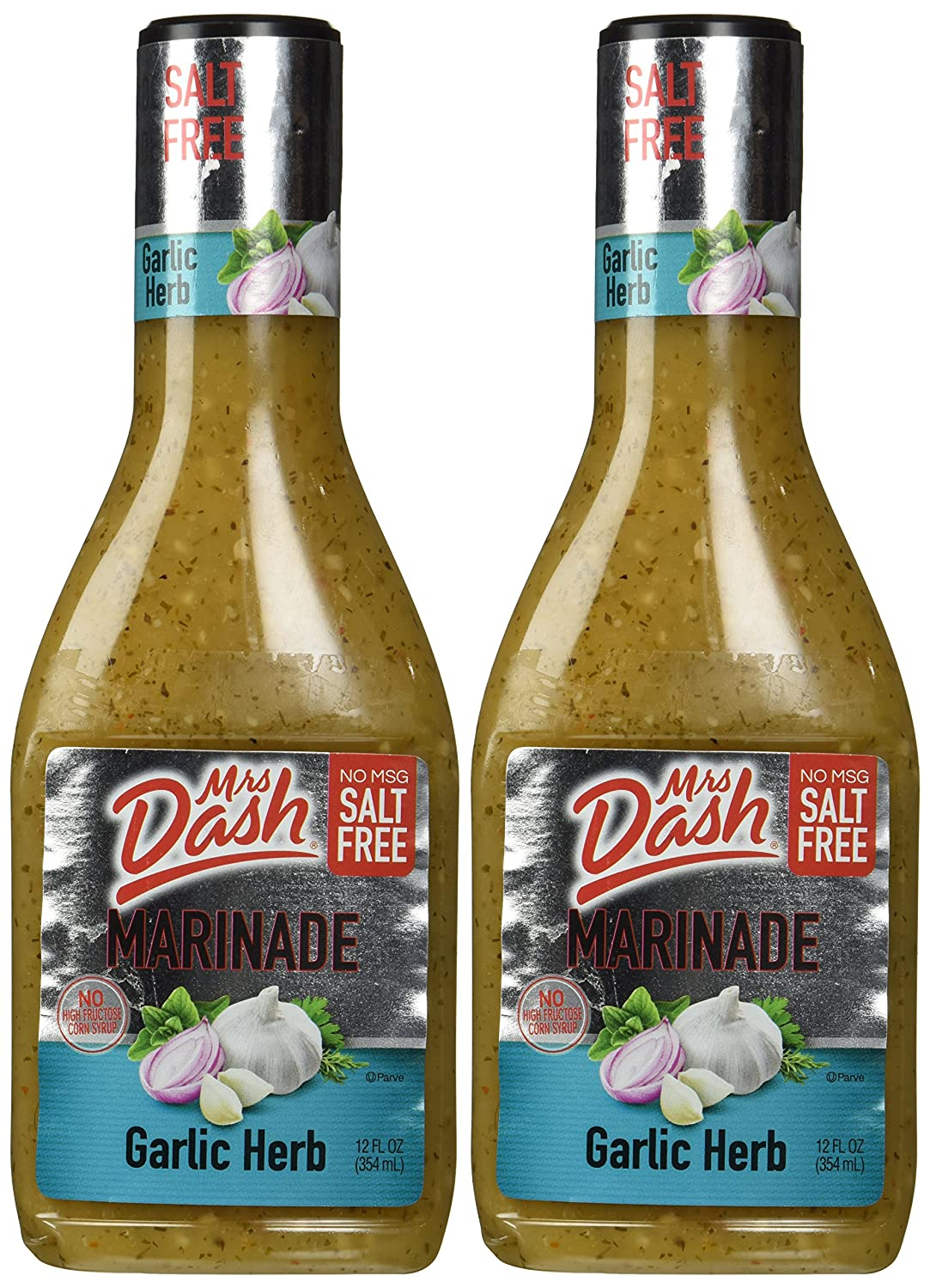 Mrs. Dash Marinade Salt-free Garlic Herb, 12 Oz (Pack of 2)