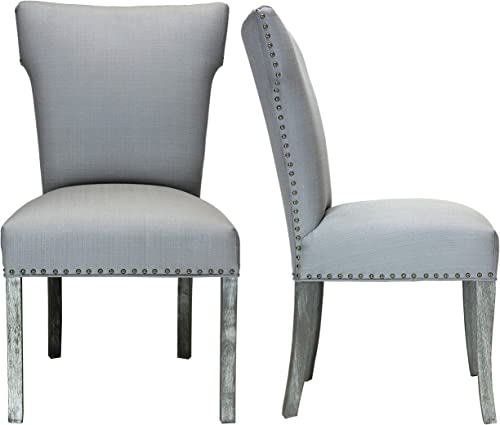 Sole Designs Bella Upholstered Wingback Dining Side Chair