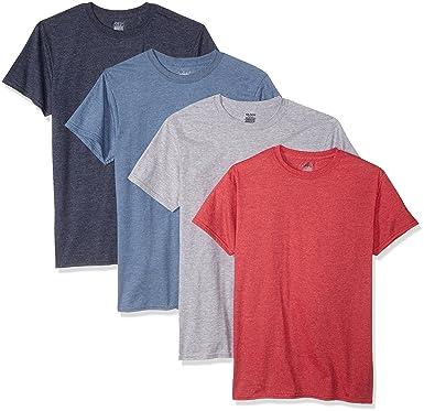 e50a5137b855 Gildan Men's 4-Pack Crew Neck T-Shirt at Amazon Men's Clothing store: