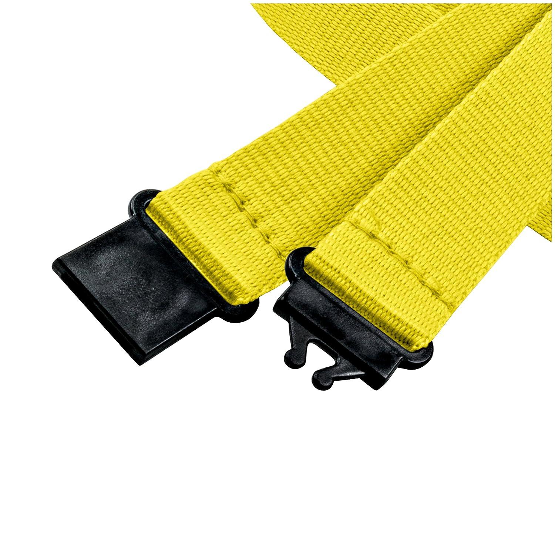 Gancio di sicurezza Nero gancio easy going linie zwo/® Confezione da 10 laccetti portachiavi 20 mm