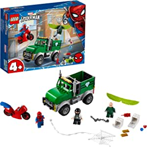 LEGO Super Heroes 76147 Vulture's Trucker Robbery Building Kit (93 Pieces)