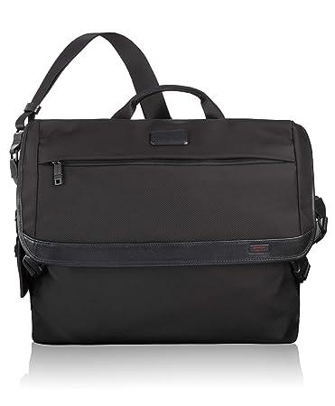 acdd85ebf7 Amazon.com  TUMI - Alpha 2 Messenger Bag - Shoulder Crossbody Bags for Men  and Women - Black  iServe