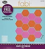 Sizzix Bigz Die, Hexagons, 1/2 Sides (Fabi Edition)