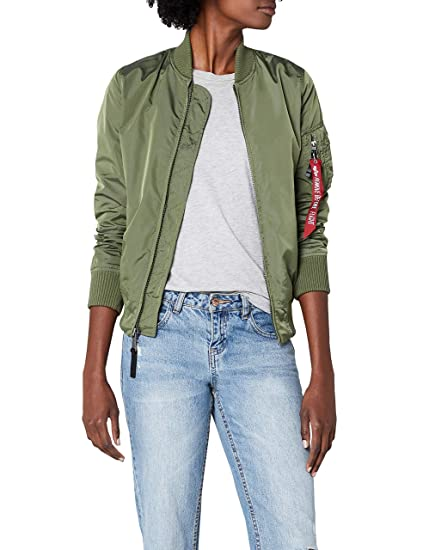 big sale 69d39 9b7c0 Jacke Alpha Industries Alpha Damen Alpha Damen Industries ...