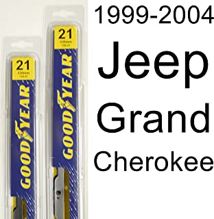 """product image for Jeep Grand Cherokee (1999-2004) Wiper Blade Kit - Set Includes 21"""" (Driver Side), 21"""" (Passenger Side) (2 Blades Total)"""