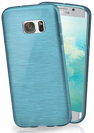 Funda Protectora OneFlow para Funda Samsung Galaxy S7 Edge Carcasa Silicona TPU 1,5mm | Accesorios Cubierta protección móvil | Funda móvil paragolpes ...