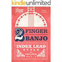 2-FINGER BANJO: INDEX LEAD STYLE book cover