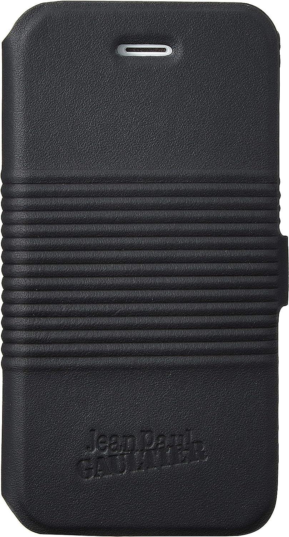 Jean Paul Gaultier JP271079 - Funda bolsillo folio metálica para Apple iPhone 5/5S, negro: Amazon.es: Electrónica