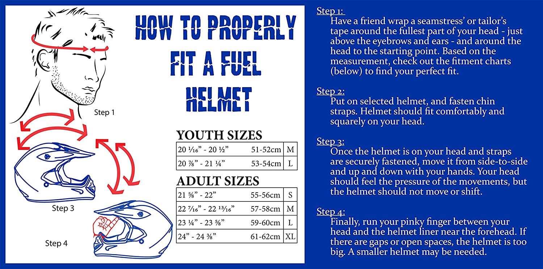 Amazon.com: Fuel Helmets SH-HHFL65 HH Series Half Helmet, Flat Black, Medium: Automotive