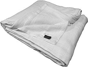 Berkshire AllSoft Cotton Blanket, White King