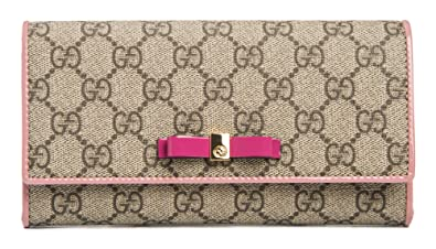 6d52b4e26a4d Amazon.com: Gucci Beige Brown Signature Leather Wallet Guccissima ...