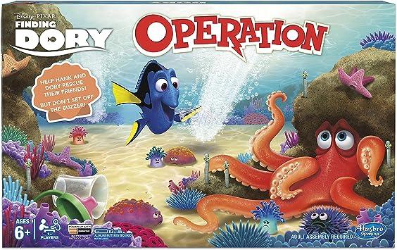 Disney/Pixar Buscando a Dory Operación Juego: Amazon.es: Juguetes y juegos