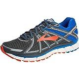 18a416f56dc Brooks Defyance 10 Men s Running Shoe Ebony Blue Orange Size 10 B(M