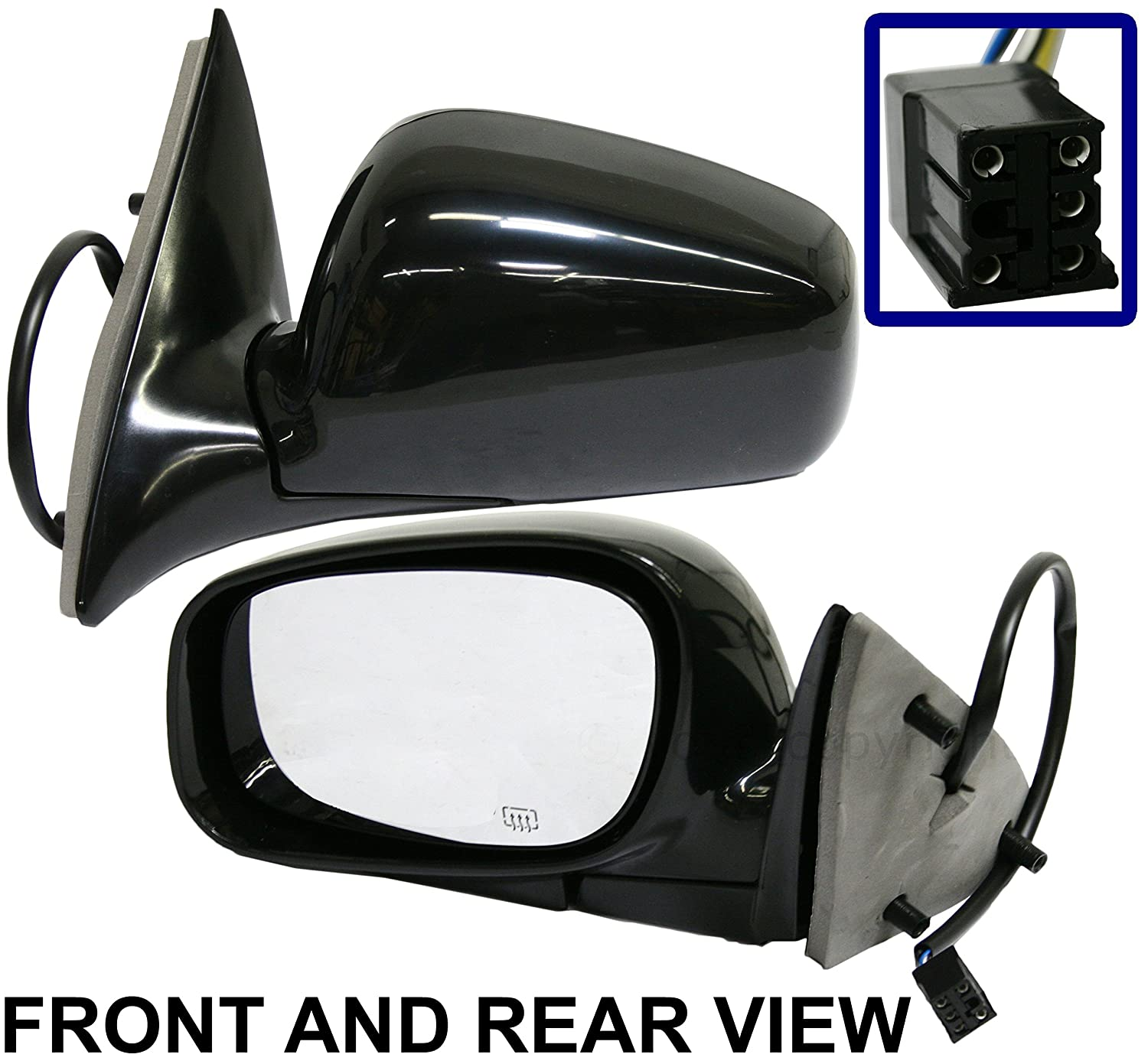 Power Heated Memory Side Mirror LH Left for 04-08 Town Car