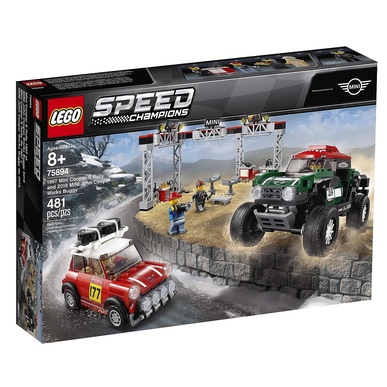 Lego Speed Champions 1967 Mini Cooper S Rally And 2018 Mini John