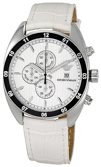 3d480feb1353 Emporio Armani Reloj analogico para Hombre de Cuarzo con Correa en Piel  AR5915  Emporio Armani  Amazon.es  Relojes