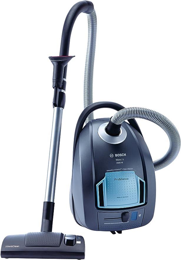 Bosch BGL452132 - Aspirador con bolsa (2100W, 5L, filtro hepa), color gris plata: Amazon.es: Hogar