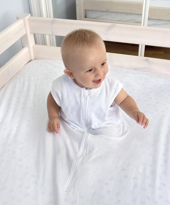 Sábana Fantasma 80-90cm x 200cm - la sábana de seguridad original (BLANCO): Amazon.es: Bebé