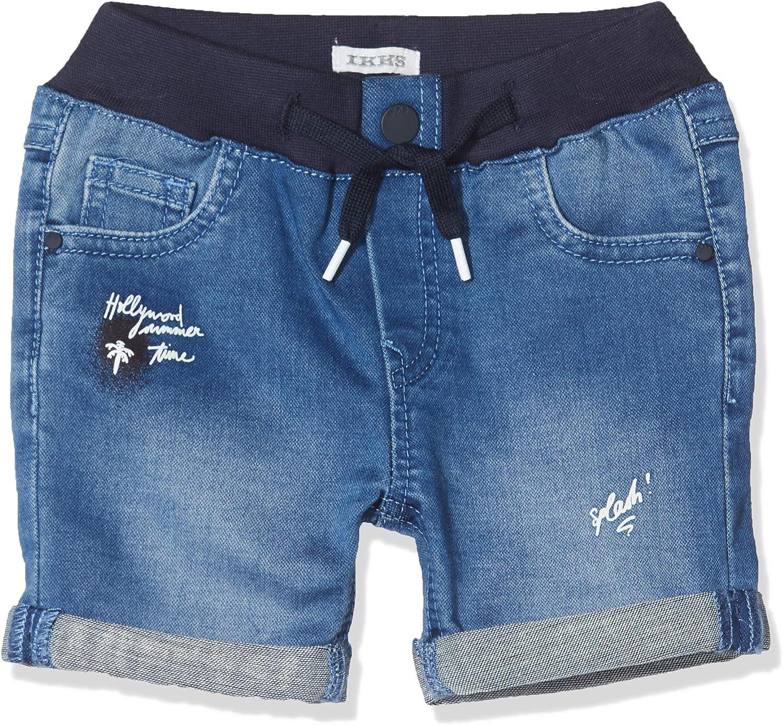 IKKS Junior Baby-Jungen Bermuda Denim Imprim/é Badeshorts
