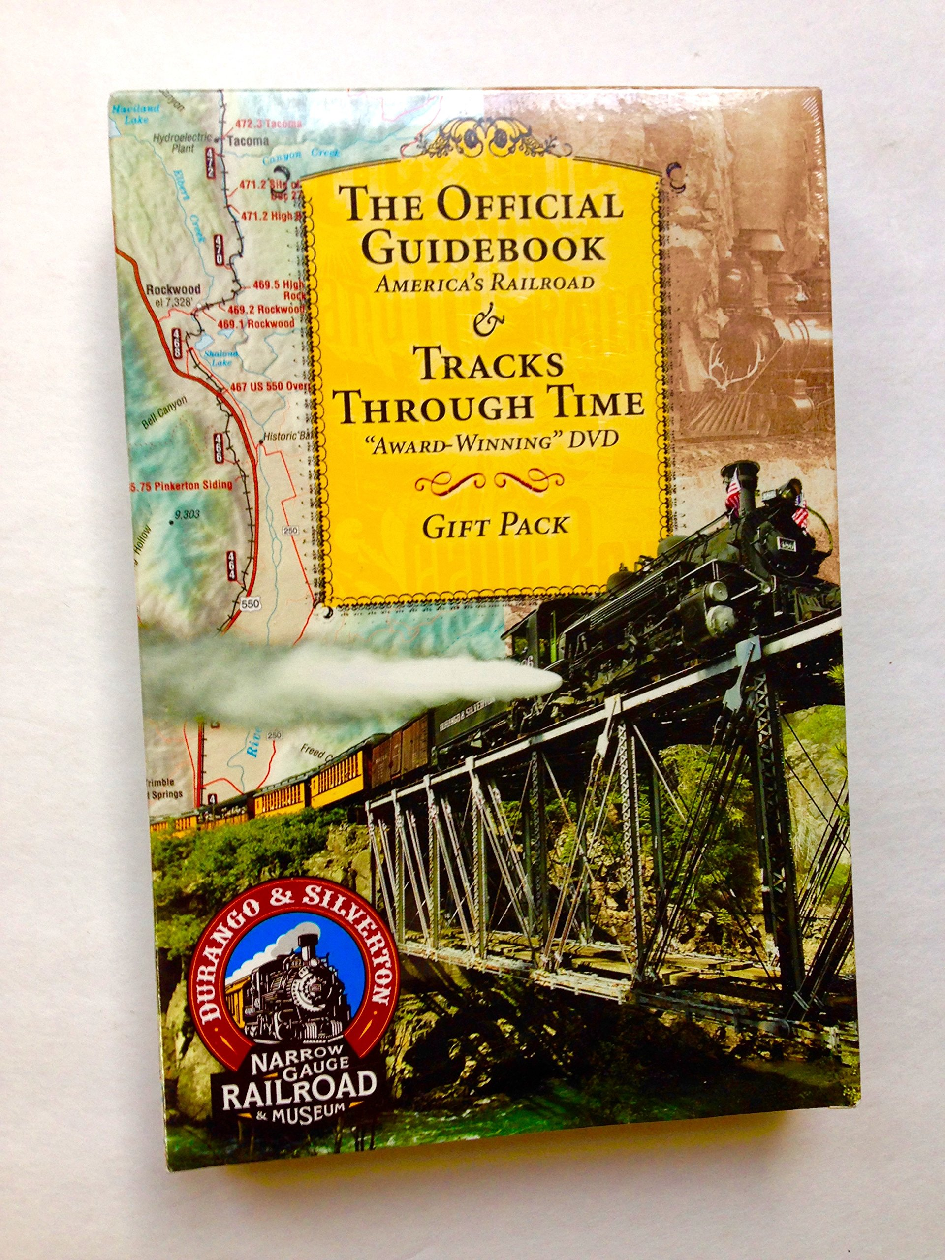 "The Official Guidebook: America's Railroad & Tracks Through Time ""Award Winning"" Dvd Gift Pack pdf epub"