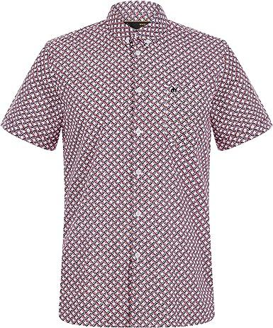 Merc Avery Ss Shirt - Camisa para hombre, talla M, color RED: Amazon.es: Ropa y accesorios