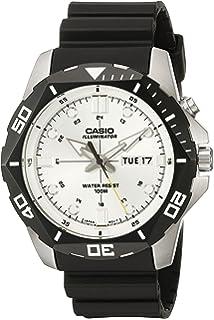 c57191875 Casio Men's MTD-1080-7AVCF Super Illuminator Diver Digital Display Quartz Black  Watch