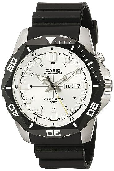 Reloj para hombre de Casio MTD-1080 - 7AVCF, pantalla digital, con iluminación