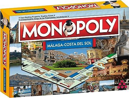 Monopoly Malaga Costa del Sol: Amazon.es: Juguetes y juegos