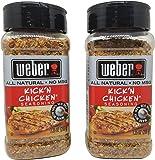 Weber Kick'n Chicken Seasoning - 2 Pack