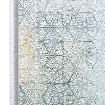 Homein Fensterfolie Selbstklebende Folie Fur Fenster Bunt
