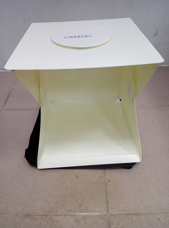 Lightbox Photography Linkspe Portable Mini Photo Studio With LED Light The Best Small Folding Product Lighting Kit Light Box Tent