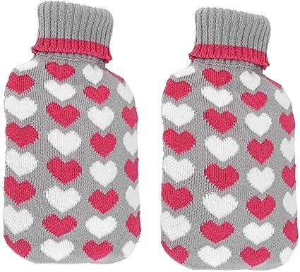 Bambelaa! Juego de 2 botellas de agua caliente grandes ...