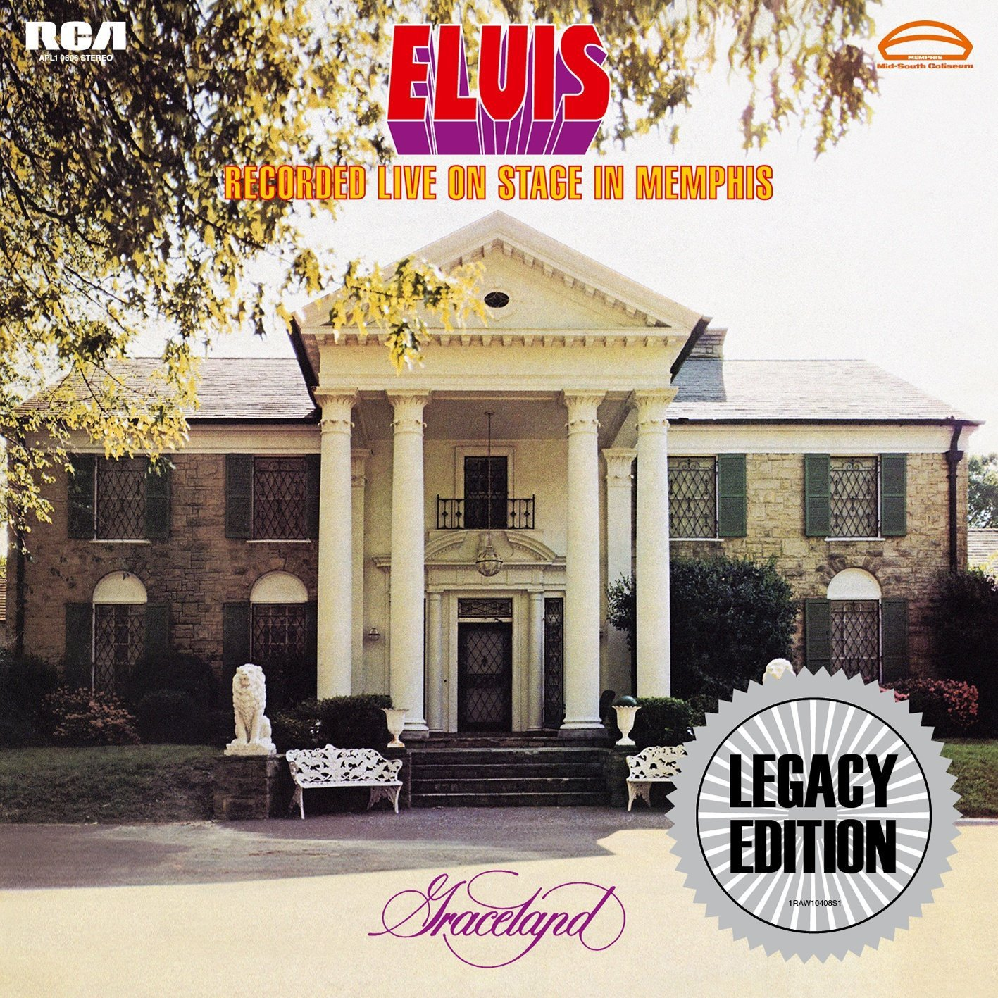 Elvis Recorded Live on Stage in Memphis (Legacy Edition) by Legacy