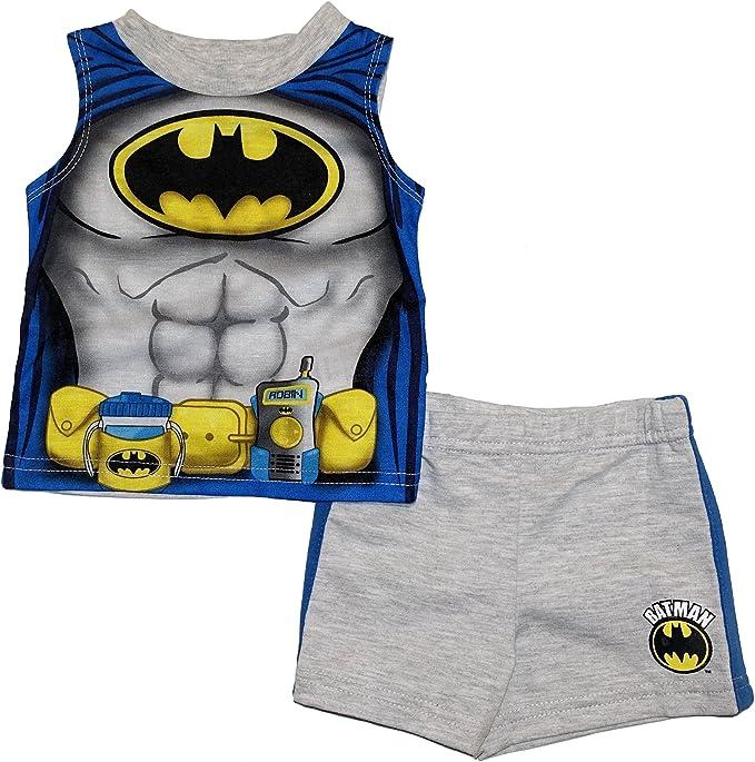 Amazon.com: dc comics Batman juego de niños playera sin ...