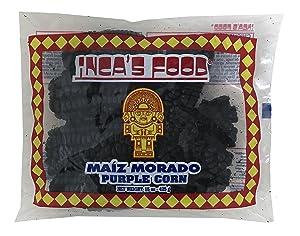 Inca's Food Maiz Morado (Purple Corn) 15 oz - Product of Peru