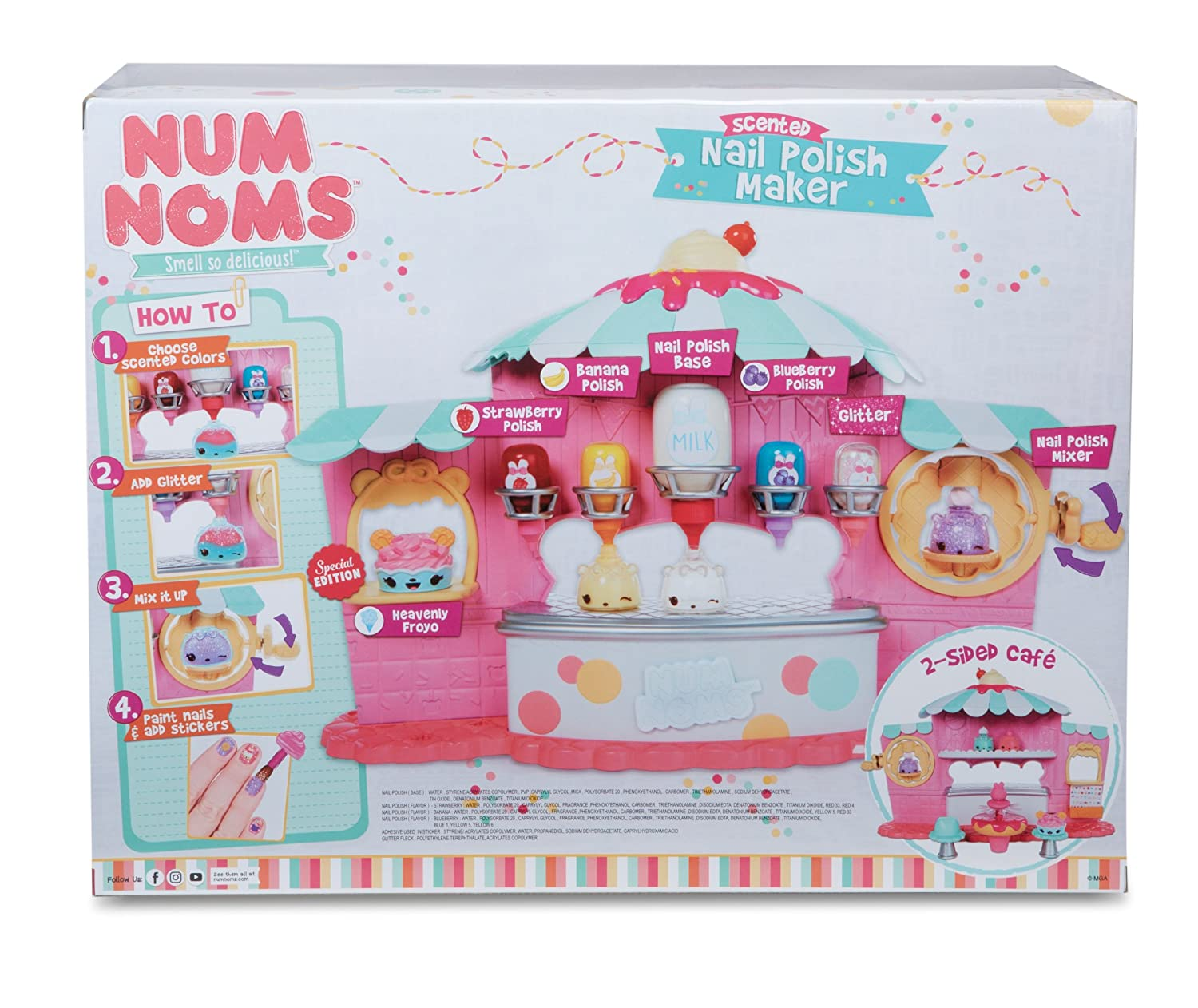 Amazon.com: Num Noms Nail Polish Maker: Toys & Games