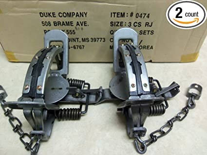 Amazon.com: 2 Duke # 3 de goma Bobina de mandíbula Primavera ...