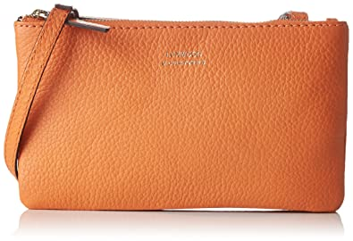 Loxwood Femme Petit Crossover Double Zip Sacs bandouliere (Clementine) 6gL43HYow