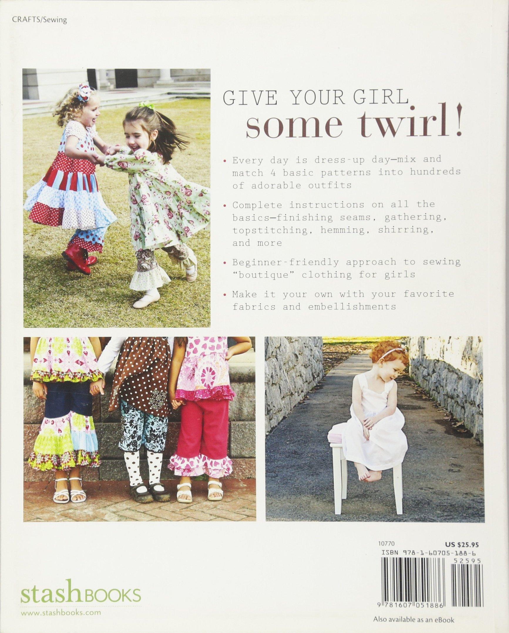 Amazon little girls big style sew a boutique wardrobe from amazon little girls big style sew a boutique wardrobe from 4 easy patterns 0734817107705 mary abreu books jeuxipadfo Image collections