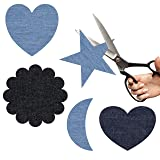 Iron On Patches - 15Pcs Denim Patches for Clothing