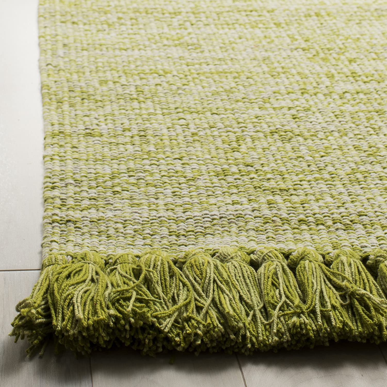 23 x 7 Safavieh Montauk Collection MTK610G Olive Green Runner