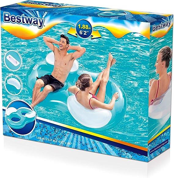 Flotador Bestway Double Anillo: Amazon.es: Juguetes y juegos