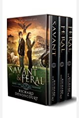 Savant & Feral (Digital Boxed Set): Books 1, 2 and 2.5 of the Epic Luminether Fantasy Series Kindle Edition
