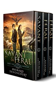 Savant & Feral (Digital Boxed Set): Books 1, 2 and 2.5 of the Epic Luminether Fantasy Series