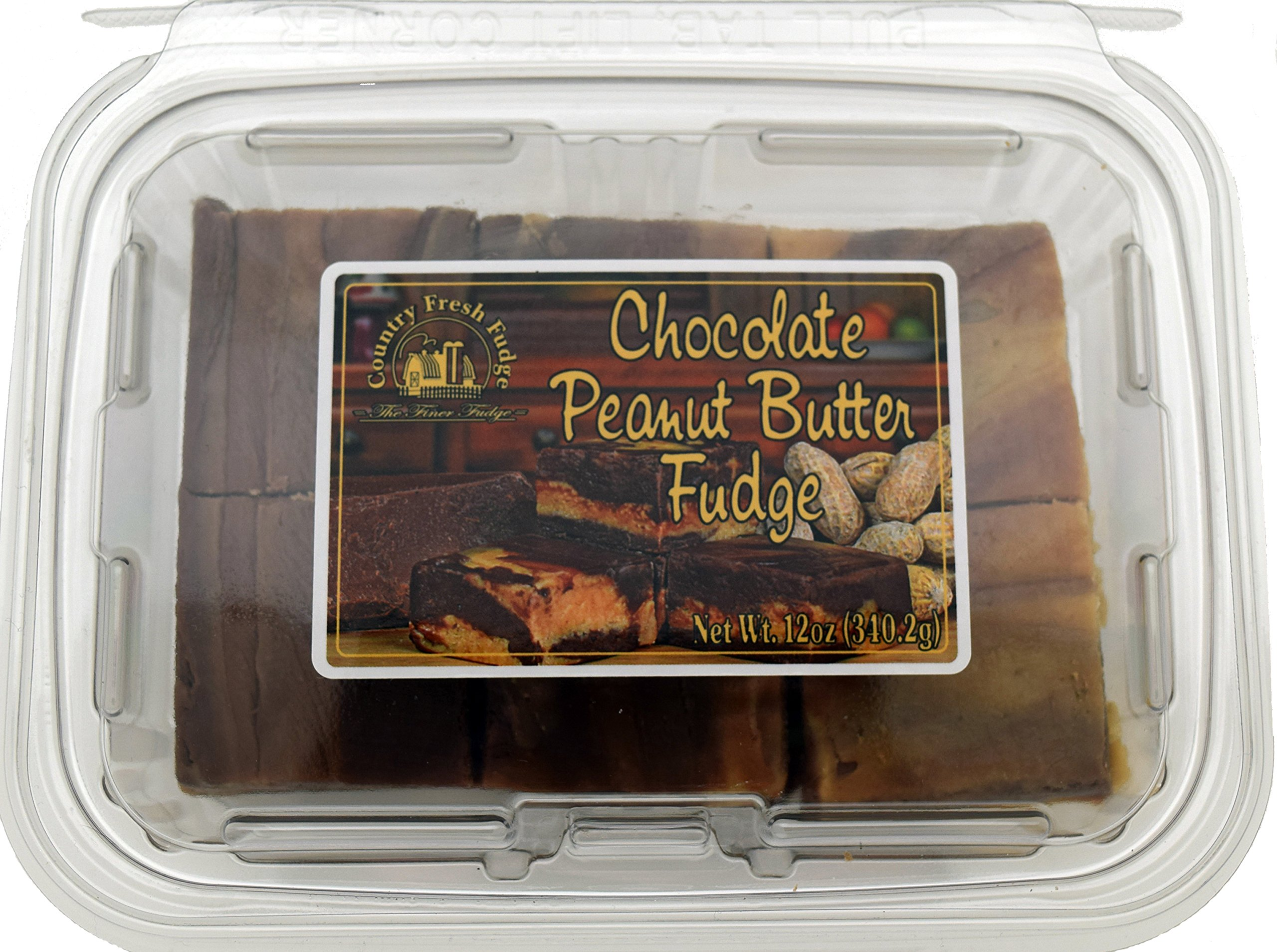 Country Fresh Fudge Chocolate Peanut Butter, 6 Pound (Pack of 8) by Country Fresh Fudge