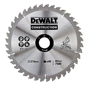 Dewalt dt1155qz 216 x 30mm x 40 tooth circular saw blade dewalt dt1155qz 216 x 30mm x 40 tooth circular saw blade construction greentooth Choice Image