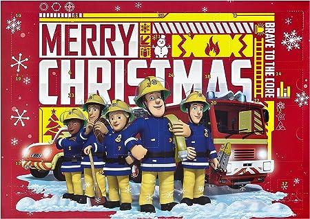 Calendario de Adviento – Fireman Sam – schreibwaren – Manualidades ...