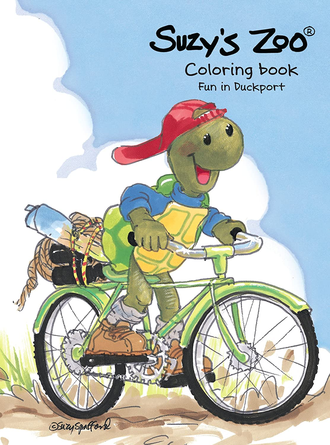 Suzy's Zoo Fun in Duckport Coloring Book