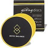 Gliding–Discos para ejercicios de núcleo doble cara Set de 2con deslizadores ejercicio entrenamiento completo eBook y programas
